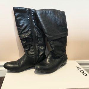 Aldo Genuine Leather Boots